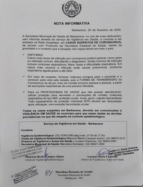 nota-informativa-secretaria-de-saúde-de-barbacena