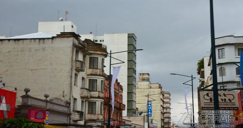 A última quarta feira de novembro vai ser fria e chuvosa em Barbacena