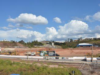 Obras do Shopping Parque Barbacena