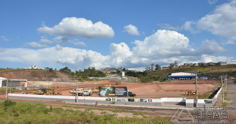 Obras do Shopping Parque Barbacena