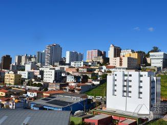 Vista parcial do centro de Barbacena.