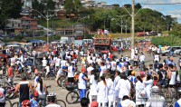 Passeio Ciclístico comemora dia do trabalhador em Barbacena