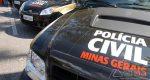 POLÍCIA CIVIL REALIZA PRISÕES POR LATROCÍNIO EM DESTERRO DO MELO E POR HOMICÍDIO EM CIPOTÂNEA