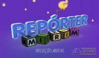Repórter Mirim da TV Integração (Foto: G1 Zona da Mata e Vertentes)