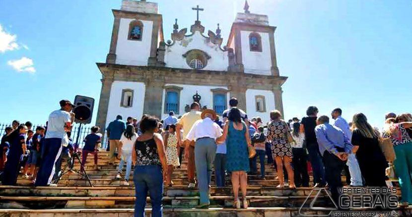 Reabertura da Matriz de Nossa Senhora da Conceição, (foto: Beto Novaes/EM/DA Press)