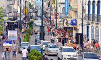 Rua XV de Novembro em Barbacena