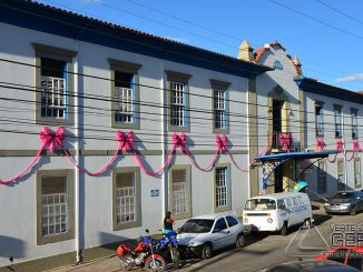 Santa Casa de Misericórdia de Barbacena em 2014.