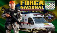 Participação na Força Nacional de Segurança.