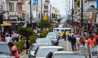 trânsito-na-Rua-XV-de-Novembro-em-Barbacena-foto-januario-basílio-vertentes-das-gerais