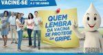 CAMPANHA DE VACINAÇÃO CONTRA GRIPE COMEÇA NA PRÓXIMA SEGUNDA-FEIRA (23).