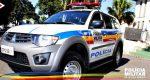 POLÍCIA MILITAR PRENDE TRAFICANTE DE DROGAS NO BAIRRO BOA MORTE